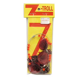 Z-TROLL SMALL TRANSPARENT RED