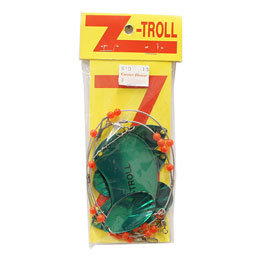 Z-TROLL MEDIUM TRANSPARENT GREEN
