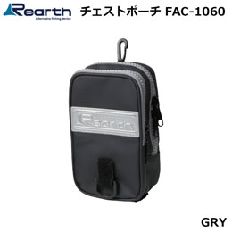 Rearth(リアス) FAC-1060 リアス チェストポーチ BLK/GRY